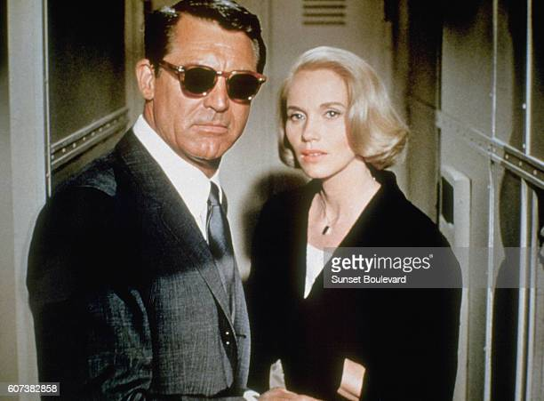 Cary Grant and EvaMarie Saint in 'North by Northwest' 1959