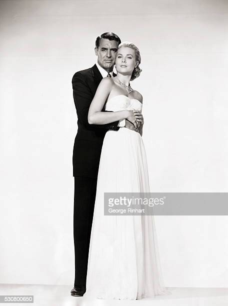 Cary Grant and Grace Kelly in a publicity photograph for the motion picture To Catch a Thief