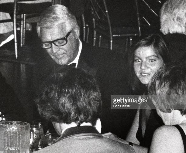 Cary Grant and Maureen Donaldson during Academy of Magical Arts Awards March 3 1976 at Beverly Wilshire Hotel in Beverly Hills California United...