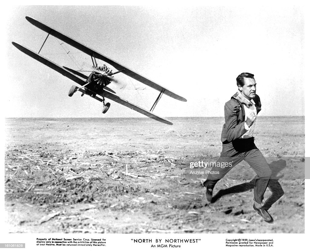 Cary Grant In 'North By Northwest' : News Photo