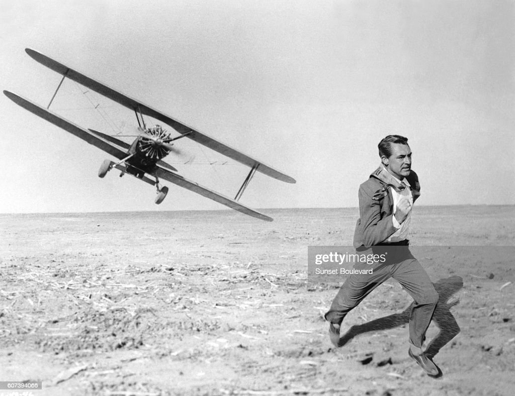 On the set of North by Northwest : News Photo