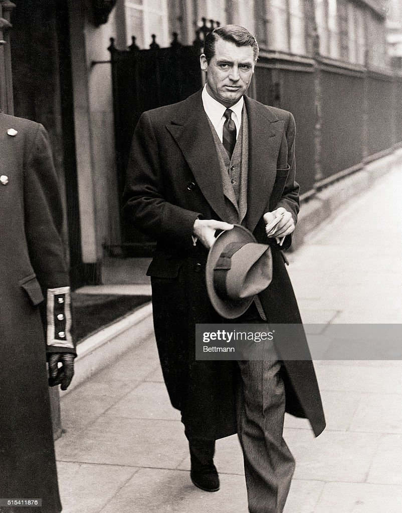 Cary Grant in London : News Photo
