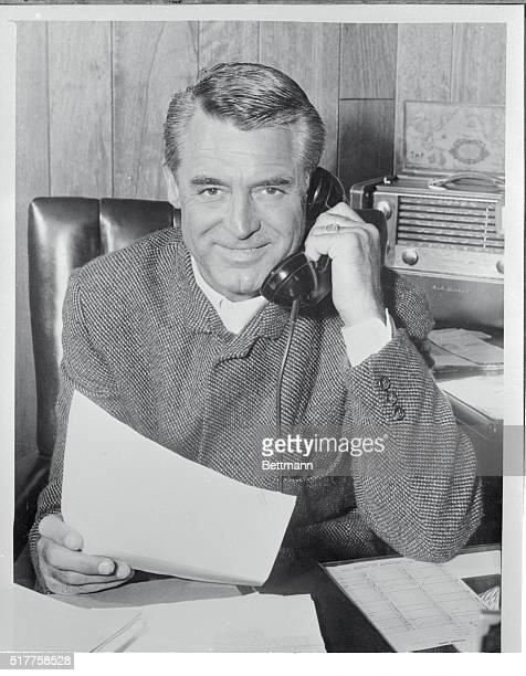 Cary Grant who cornered the market on charm years ago wastes none or it on glamor girls or in night clubs And he likes natural women 'The vanity that...