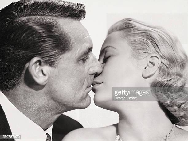 Cary Grant with Grace Kelly in To Catch a Thief 1954