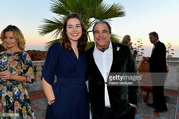 Cary Hampton and Cary Collins attend Hearst Castle Preservation Foundation Annual Benefit Weekend Legends of the Silver Screen Costume Gala at Hearst...