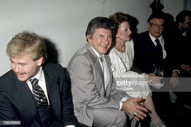 Cary James Wyman and Liberace during Shirley MacLaine's 50th Birthday Party 1984 at Limelight in New York New York United States