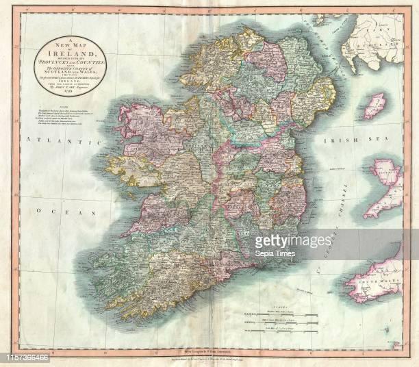 1799 Cary Map of Ireland John Cary 1754 Ð 1835 was an English cartographer John Cary 1754 Ð 1835 English cartographer
