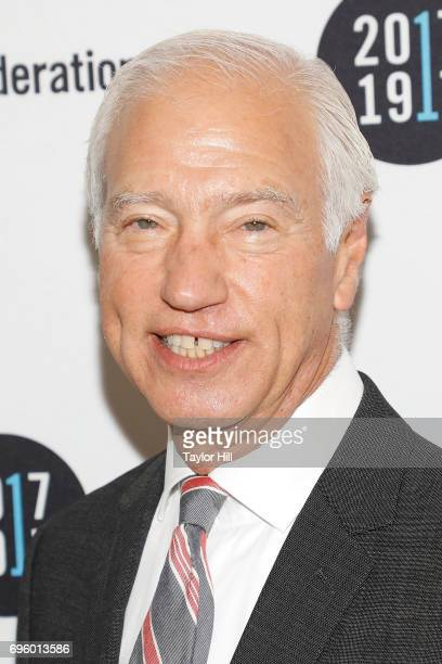 Cary Sherman attends the United Jewish Appeal Federation Of New York's 2017 Music Visionary Of The Year Award Luncheon at The Pierre Hotel on June 14...