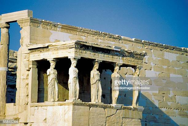 Caryatids at the Erechteion, Acropolis, Athens, Greece
