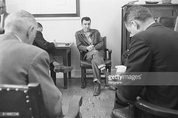 Caryl Chessman who was convicted on 17 counts of robbery kidnapping and rape and who delayed his execution in the California gas chamber eight times...