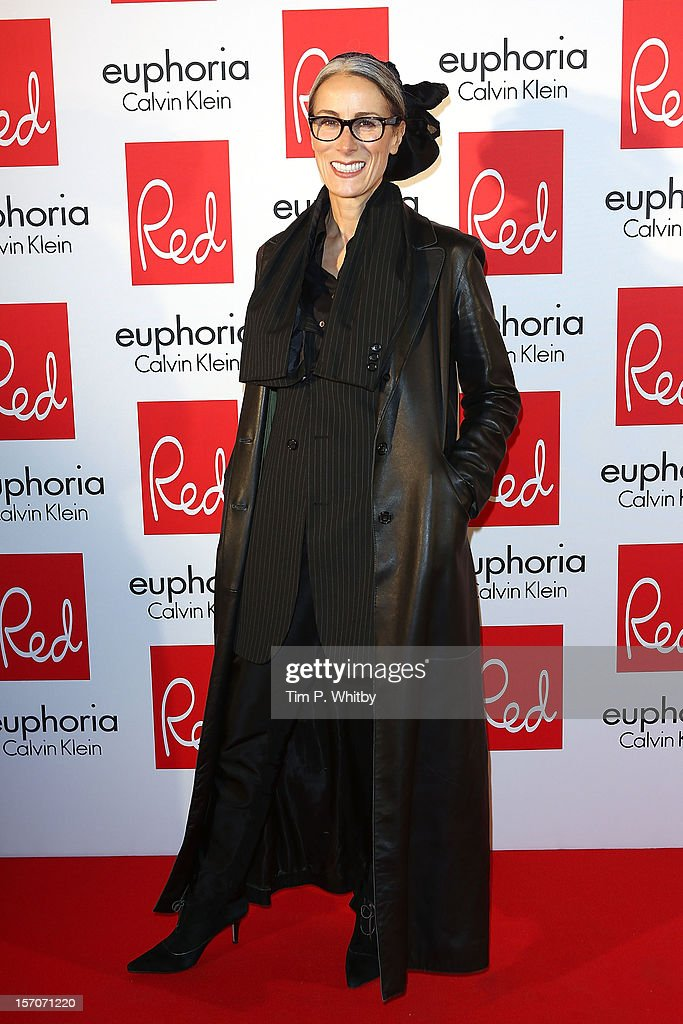Caryn Franklin attends Red's Hot Women Awards, in association with euphoria Calvin Klein on November 28, 2012 in London, United Kingdom.