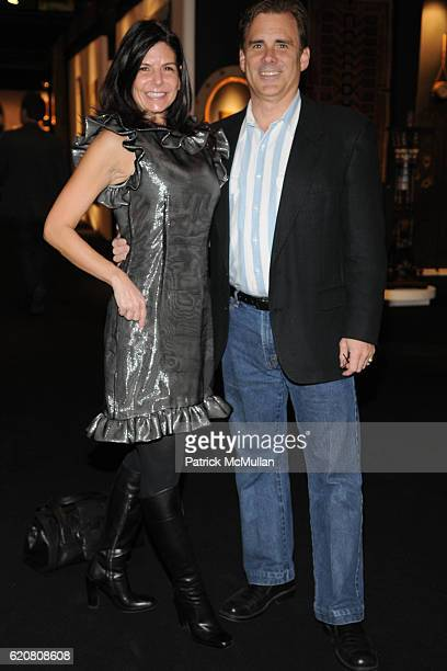 Caryn Nadler and Rob Rich attend WESTCHESTER ENTERPRISES Presents The New York Art Design Fair at Park Avenue Armory on March 27 2008 in New York City