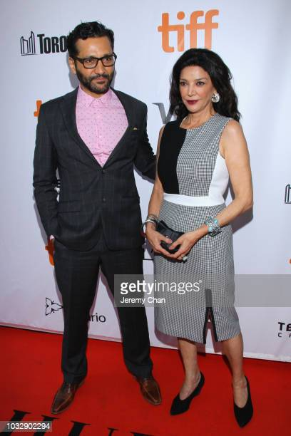 Cas Anvar and Shohreh Aghdashloo attend the The Lie premiere during 2018 Toronto International Film Festival at Roy Thomson Hall on September 13 2018...