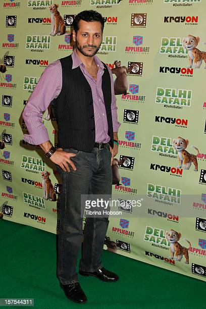Cas Anvar attends the Delhi Safari Los Angeles premiere at Pacific Theatre at The Grove on December 3 2012 in Los Angeles California