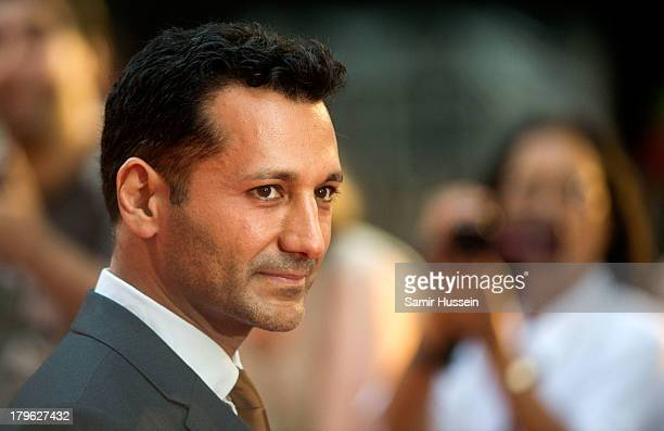 Cas Anvar attends the World Premiere of 'Diana' at Odeon Leicester Square on September 5 2013 in London England