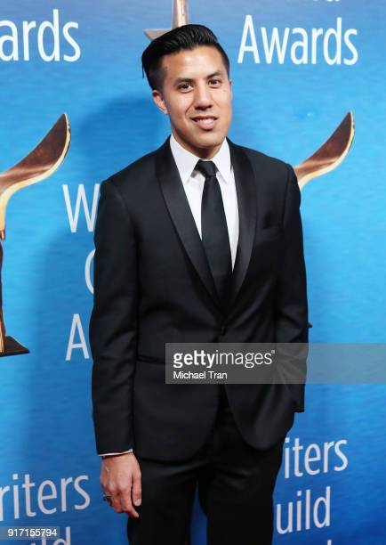 Cas Ruffin arrives to the 2018 Writers Guild Awards LA Ceremony held at The Beverly Hilton Hotel on February 11 2018 in Beverly Hills California