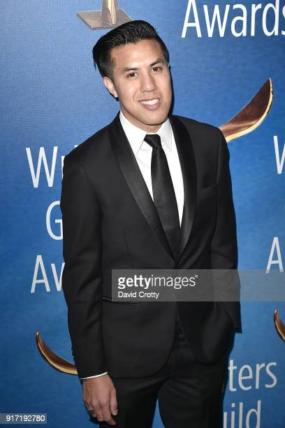 Cas Ruffin attends the 2018 Writers Guild Awards LA Ceremony at The Beverly Hilton Hotel on February 11 2018 in Beverly Hills California