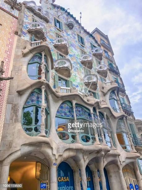 Casa Batlló shot from street