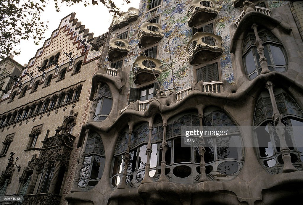 Casa Batllo. Barcelona. It Is One Of The Best Buildings Designed By Antonio  Gaudi
