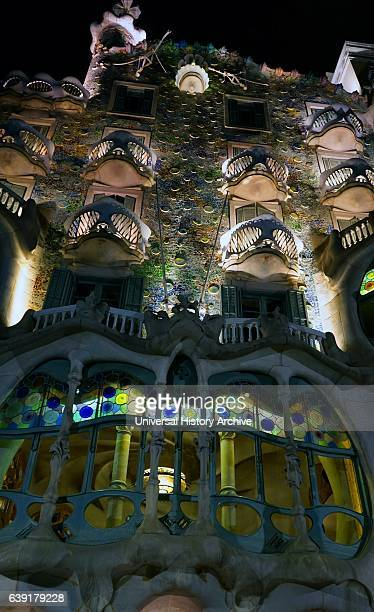 Casa Batllo building located in the centre of Barcelona is one of Antoni Gaudis masterpieces A remodel of a previously built house it was redesigned...