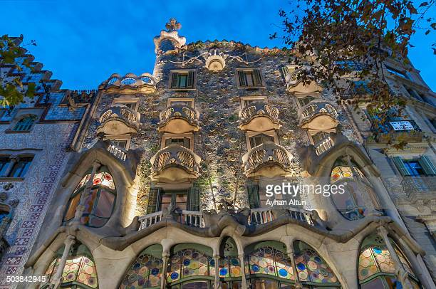 CONTENT] Casa Batllo is a renowned building located in the center of Barcelona and is one of Antoni Gaudi masterpieces