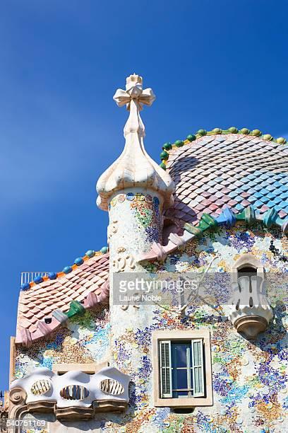 Casa Batllo roof, Barcelona, Spain