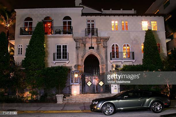 Casa Casuarina formerly the Versace Mansion is seen on Ocean Drive July 10 2006 in the South Beach neighborhood of Miami Beach Florida