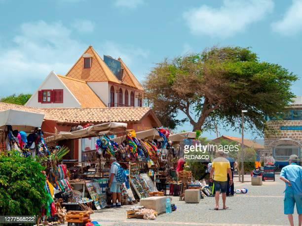 Casa da Balanca. The landmark of Sal near the beach Praia de Santa Maria. The island Sal. Cape Verde. An archipelago in the equatorial atlantic in...