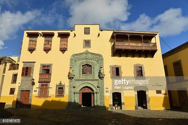 casa de colon, gran canaria, spain. - casa stock pictures, royalty-free photos & images