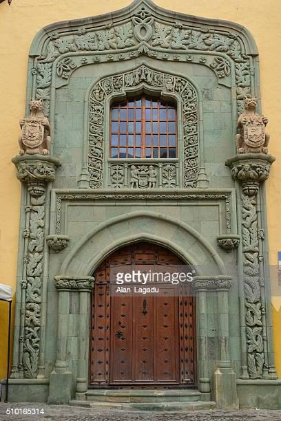 casa de colon museum, gran canaria, spain. - casa stock pictures, royalty-free photos & images