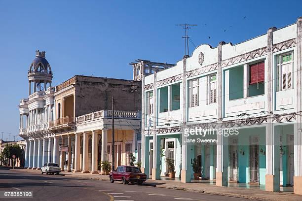 Casa de la Cultura Benjamin Duarte, the former Palacio de Ferrer, dating from 1918, Parque Marta, Cienfuegos, Cienfuegos Province, Cuba, West Indies, Caribbean, Central America
