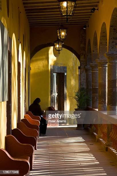 casa de la cultura, san miguel de allende, mexico - peter adams stock pictures, royalty-free photos & images