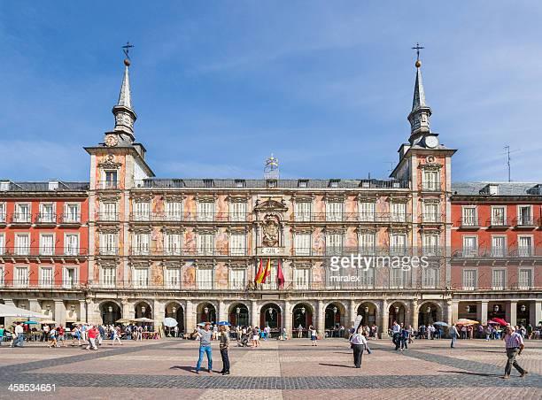 Casa de la Panadería sur la Plaza Mayor, à Madrid, Espagne