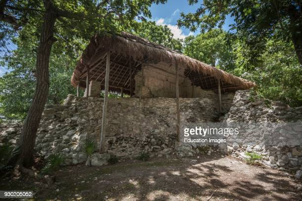 Casa de los pajaros Xelha archeological site Quintana Roo
