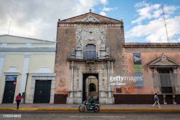 casa de montejo in merida, mexico - casa stock pictures, royalty-free photos & images