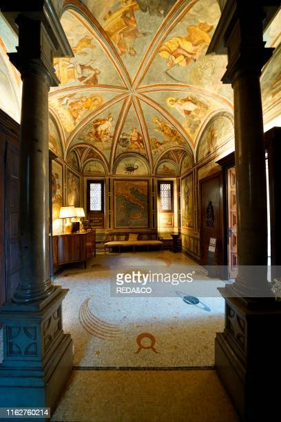 Casa degli Atelliani House. Vigna di Leonardo. Milan. Lombardy. Italy. Europe.