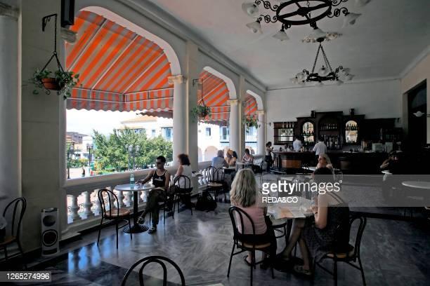 Casa Granda hotel. Cuba island. West Indies. Central America.
