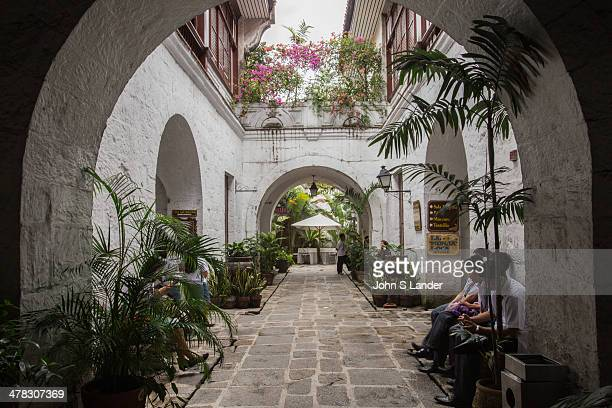 Casa Manila Arches and Doorways Casa Manila is housed in a Spanish era building that shows the colonial lifestyle during the Spanish colonial period...