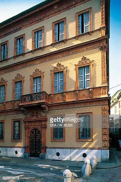 Casa Manzoni residence of the Italian writer Alessandro Manzoni Milan Lombardy Italy