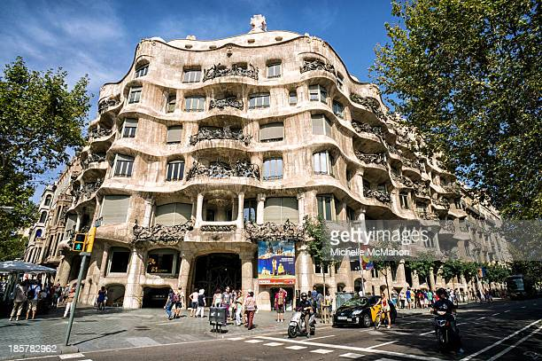 CONTENT] Casa Milà commonly known as La Pedrera is the largest civil building designed by Antoni Gaudí The apartment block was constructed between...