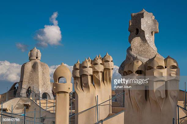 CONTENT] Casa Mila better known as La Pedrera is a modernist building in Barcelona Catalonia Spain buil by Antoni Gaudi