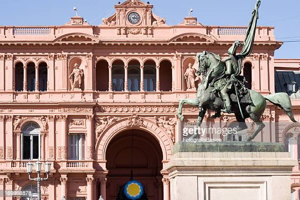 casa rosada, buenos aires, argentina - buenos aires fotografías e imágenes de stock