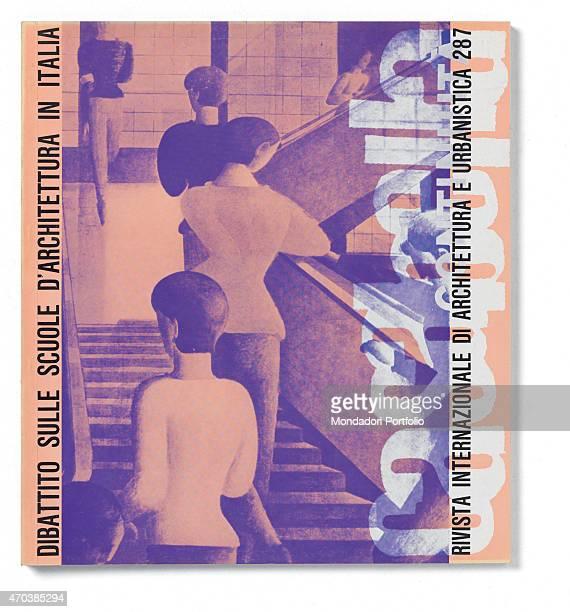 """Casabella, No. 287, May 1964, 20th century, Arnoldo Mondadori Editore, Milan, 28 x 31 cm. Whole artwork view. Vertical title in white. In the..."
