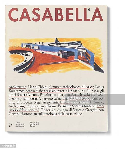 Casabella No 618 December 1994 20th Century Arnoldo Mondadori Editore Editoriale Domus Milan 28 x 31 cm Whole artwork view Project of the...