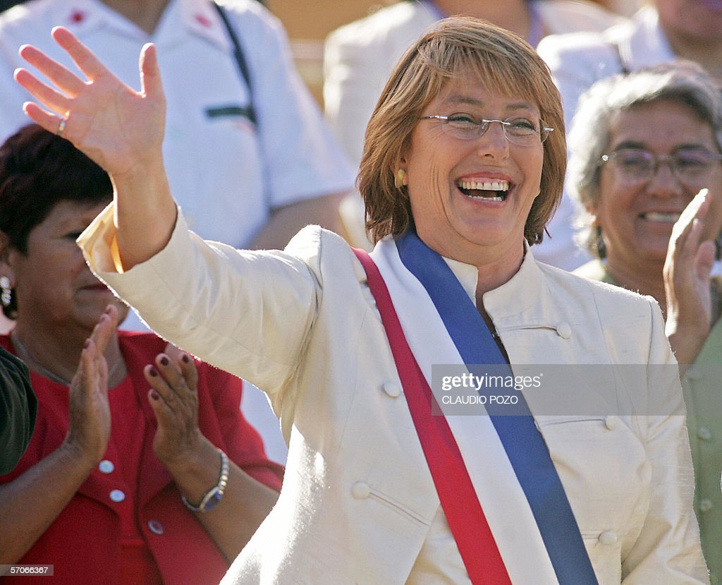 Michelle Bachelet, nueva presidenta de C : Fotografia de notícias