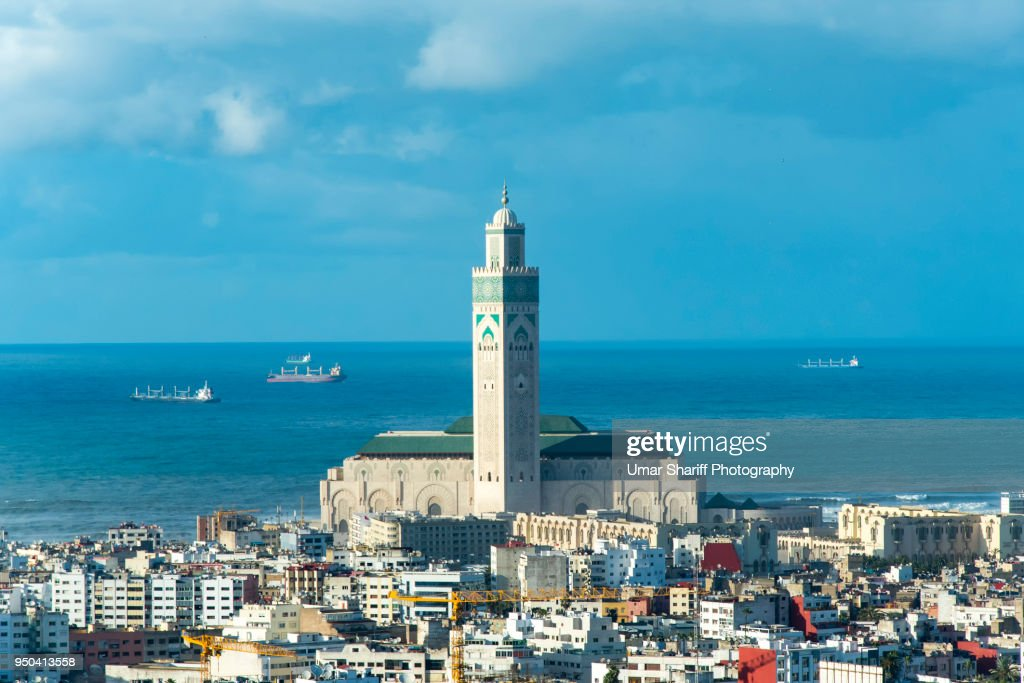 Casablanca City : Stock Photo