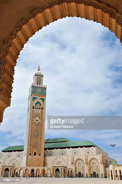 Casablanca Hassan II mosque.