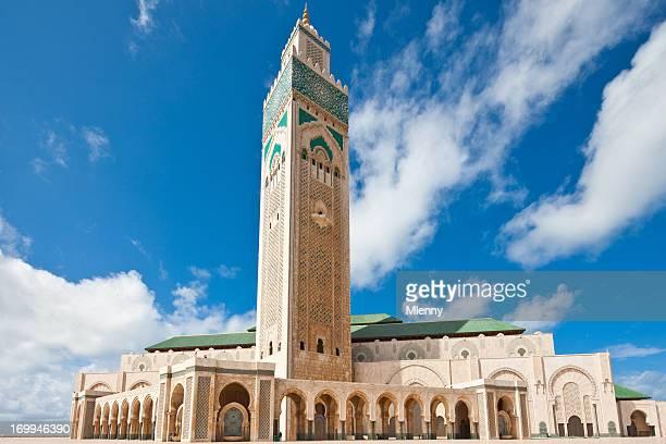 casablanca maroc mosquée - mosque hassan ii photos et images de collection