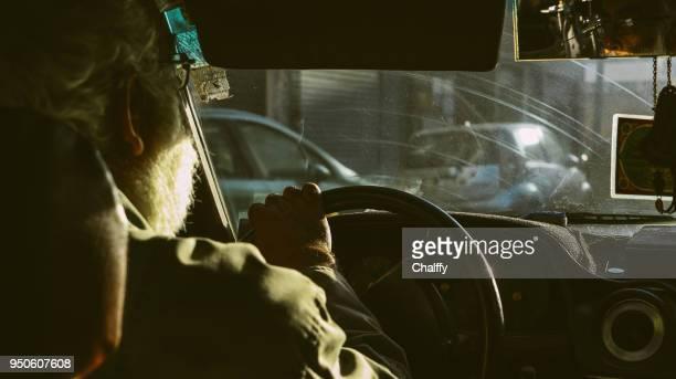 casablanca - taxi driver stock photos and pictures