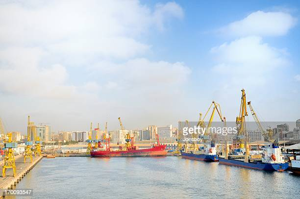 casablanca port fairway - casablanca stock pictures, royalty-free photos & images